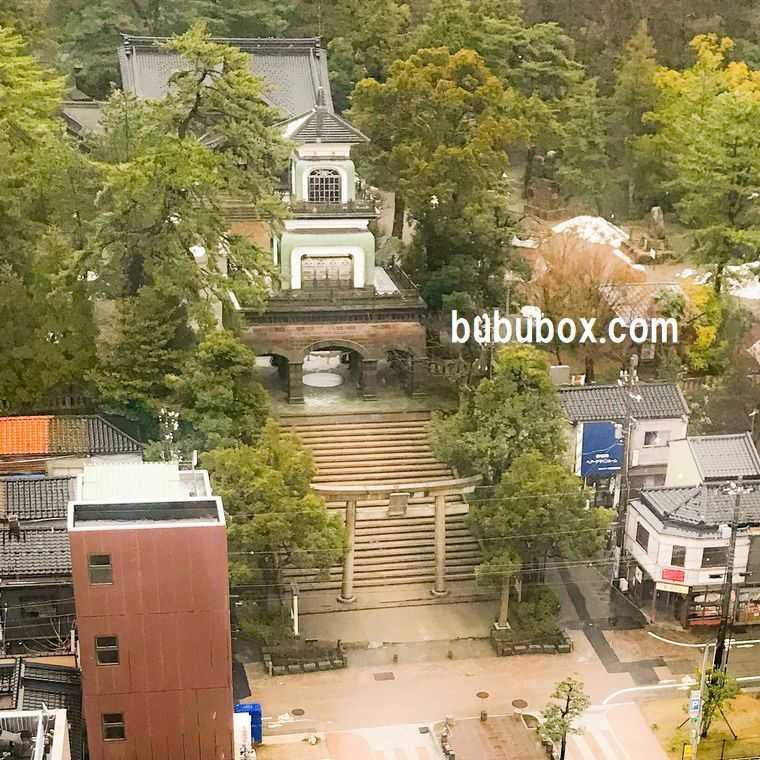 金沢ニューグランドホテル 尾山神社