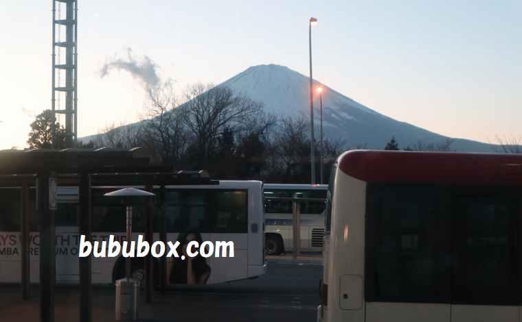 御殿場アウトレット 富士山